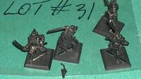 WOTC AEG Clan War metal Samurai warriors 4 clan ? bits lot #31 oop