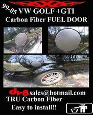 VW CARBON FIBER FUEL DOOR cover for Golf GTI R32 99-05 >>custom<< 00 01 02 03