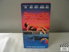 Desire and Hell at Sunset Motel (VHS, 1992) Sherilyn Fenn Whip Hubley