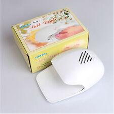 White Portable Dryer Mini Fan Blower for Hand Finger Toe Tips Nail Art Polish