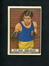 1951 Topps RINGSIDE # 61 Boxer Pete Mead EX condition w/ corner creases Boxing