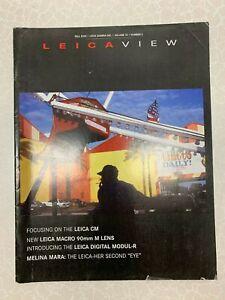 LEICA VIEW MAGAZINE FALL 2003 Vol 14 No 3, 90MM MACRO M, CM, MODULE R,