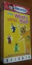 PBS Kids Teletubbies:  What's That?  Delightful Dances & Silly Songs - VHS, New