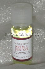 RED HOT PASSION Home Fragrance Oil LIMITED EDITION Bath & Body Works WHITE BARN