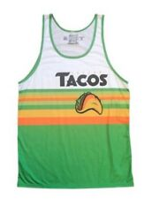 Fresno Grizzlies Authentic Tacos Taco Tuesday Jersey Tank Top Size XL Astros