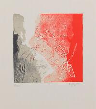 Luciano GASPARI (1913-2007) Lithographie signée & numérotée. Abstrait / Abstract