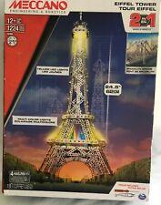 Brand New Meccano 15305 Eiffel Tower Brooklyn Bridge