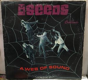 The Seeds A Web Of Sound Mono Record GNP2033