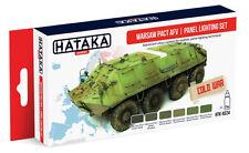 Hataka As24 Warsaw Pact Afv/Panel Lighting Paint Set (6 Colors)