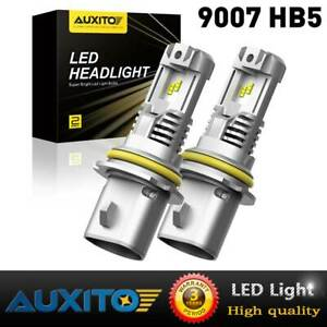 For Dodge Ram 1500 2500 3500 2002-05 LED COMBO Headlight Bulbs 9007 Hi Low Beam
