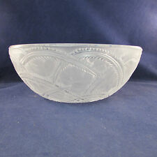 Lalique Crystal PINSONS BIRDS Coupe Bowl France