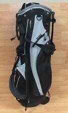 Genuine King Par Black & Grey Nylong Golf Club Bag With Cooler Pocket! *Read*