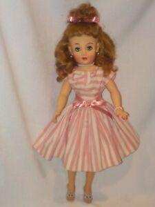 "19"" Vintage Ideal Miss Revlon Doll Wearing Original Dress"