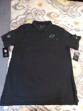 NWT Mens Carolina Panthers Nike Golf Polo Black XLarge Pocket $85 On Field...