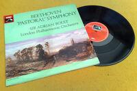 """ BEETHOVEN ' PASTORAL ' SYMPHONY No.6 "" BOULT SUPERB NMINT UK HMV LP ASD 3456"