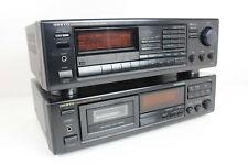 Onkyo TX-7830 Hifi-Receiver und TA-2820 Kassetten-Deck Vintage