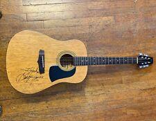 George Jones Signed Autographed Acoustic Guitar JSA Authentic