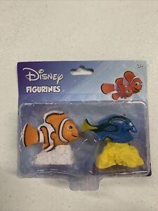 Disney Figurines Pixar Finding Nemo Dory and Nemo 2 Pack