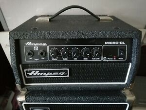 Ampeg Micro CL SVT Classic 100 CL Head VERY LOUD Excellent Condition.