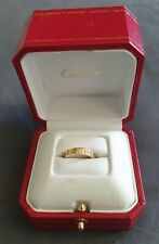 100% Authentic Cartier Love Ring 18ct Gold 750 size 49