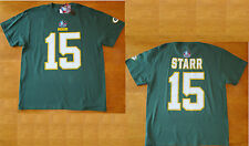 GREEN BAY PACKERS Hall Of Fame Eligible Receiver Bart Starr #15 T Shirt Lg NWT