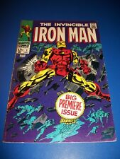 Iron Man #1 Silver Age 1st Issue Huge Key Wow Nice Looking Book