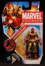 "2010 HASBRO MARVEL UNIVERSE SERIES 2 IRON MAN 2020 033 3 3/4"" ACTION FIGURE MOC"