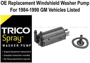 Windshield / Wiper Washer Fluid Pump - Trico Spray 11-505
