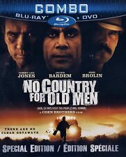 NEW BLU-RAY/DVD COMBO / No Country for Old Men - Josh Brolin, Tommy Lee Jones,