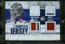HENRIK LUNDQVIST 10-11 ITG Between The Pipes COMPLETE JERSEY PATCH QUAD SP/9 BTP