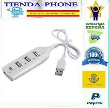 MINI HUB USB 4 PUERTOS - LADRON USB MULTIPUERTO