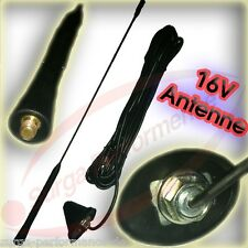 RS KFZ Autoantenne Antenne FM/AM 40cm inklusive Kabel und Adapter