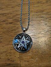 Wicca pentagram Necklace