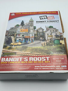 HO SCALE FOS SCALE MODELS LTD RUN KIT - BANDITS ROOST - KIT #240
