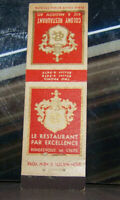 Vintage Early Midget Matchbook Cover X3 New York City Colony Excellence Madison