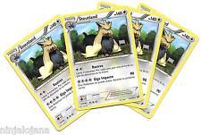 Pokemon 4 STOUTLAND 83/114 Raras x4 Español Incoloro RARA