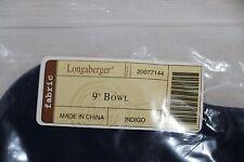"Longaberger - 9"" Bowl Liner - Indigo #20077144 New"