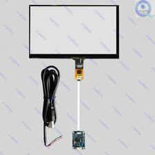 """6.2"""" Capacitive Touch Panel USB Controller 155X88mm For WIN 7 8 10 Raspberry Pi"""