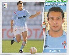 095 GUSTAVO LOPEZ ARGENTINA RC.CELTA STICKER LIGA ESTE 2007 PANINI