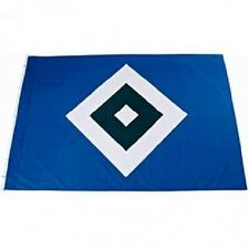 "HSV Hamburger Sport Verein Hissfahne / Fahne / Flagge  "" Raute "" 200x150 cm"