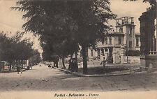 NP6779 - PORTICI NAPOLI - BELLAVISTA PIAZZA VIAGGIATA 1931