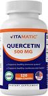 Vitamatic Quercetin 500 mg, 120 Vegetarian Capsules