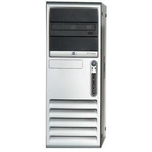 HP dc7700CMT ET088AV 2.4Ghz 3GO 250GO Chipset 965Q Express Windows XP Pro SP3