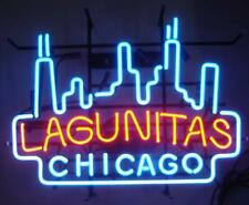 "New Chicago Lagunitas Neon Light Sign 24""x20"" Lamp Poster Real Glass Beer Bar"