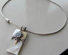 Choker Sterling Silver OMEGA Fine Necklaces & Pendants