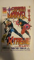 Captain Marvel #3 February 1996 Marvel Comics