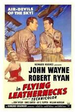 FLYING LEATHERNECKS Movie POSTER 27x40 John Wayne Robert Ryan Janis Carter Don