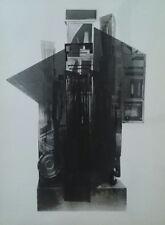 """Louise Nevelson """"Façade (Facades)"""" Original Silkscreen with Collage S/N"""