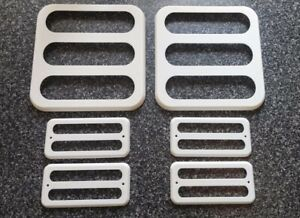 Chevrolet Chevy Van / GMC Vandura Side markers and tail light covers set