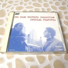 The Coen Brothers Collection: Special Features JAPAN Promo DVD RARE #01-1